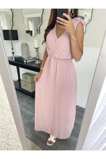 LONG DRESS 2945 ROSE