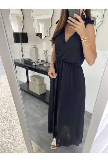 LONG DRESS 2945 BLACK