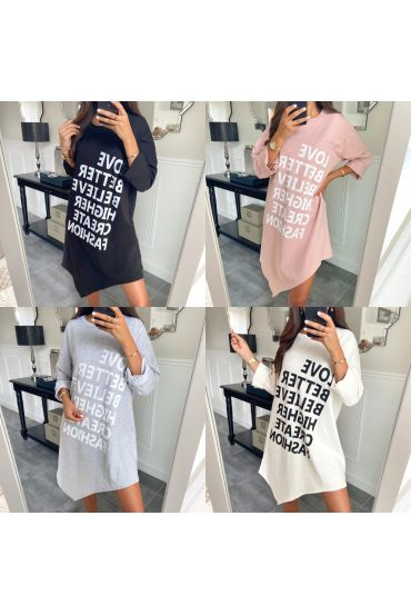 PACK OF 5 SWEATERS LONG ASYMMETRIC COVER SCRIPTURES 9646