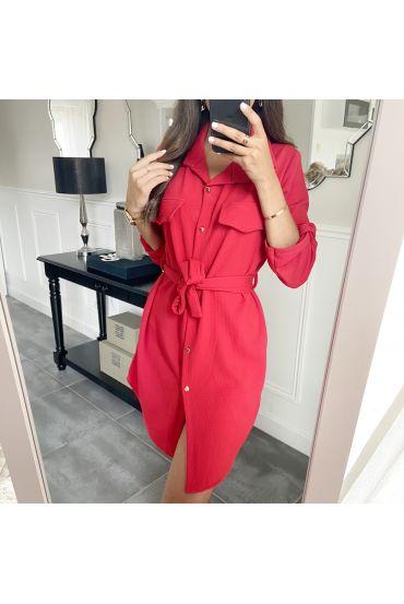 TUNIC DRESS 9046 RED