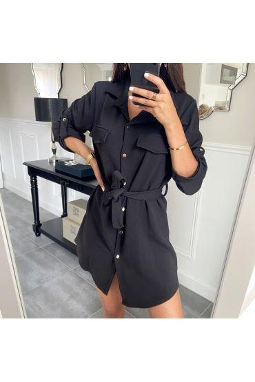 TUNIC DRESS 9046 BLACK