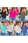 PACK OF 6 VESTS SHORT HAS BUTTONS 2702