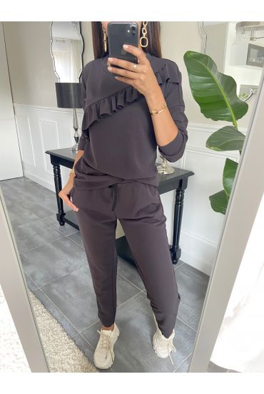 SET PANTS + SWEATER 9653 GREY