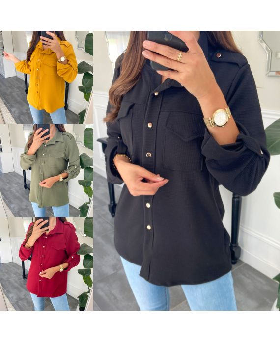 PACK OF 4 SHIRTS HAS BUTTONS 9690
