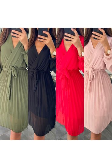 PACK 5 DRESSES PLEATS 9008