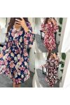 3 PACK DRESSES LARGE FLOWERS 20316
