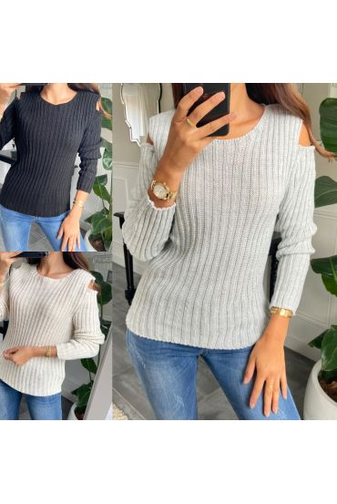 PACK 3 SWEATERS SHOULDERS DENUDEES 2090