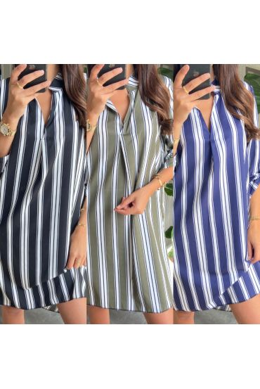 PACK 4 DRESSES TUNICS STRIPES 9515