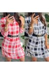 PACK OF 2 DRESSES TUNICS TILES 9415