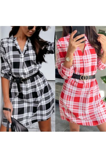 PACK OF 2 DRESSES TUNICS TILES + BELT 9415