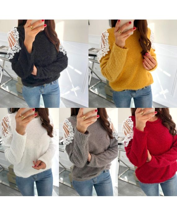 PACK 5 SWEATERS SOFT LACE 9168