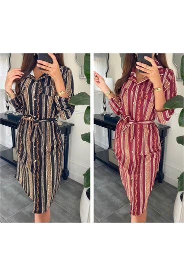 PACK 5 DRESSES SHIRT PRINTED 9655I1