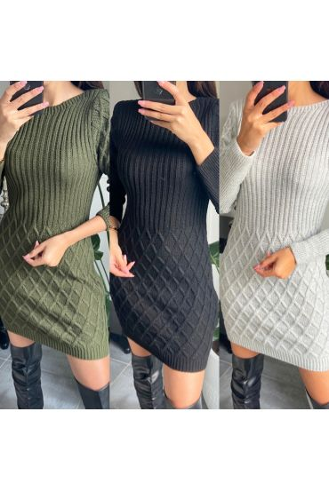 PACK 3 DRESSES SWEATERS 2129