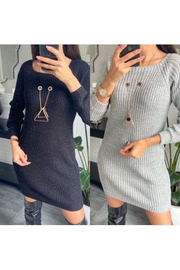 PACK 2 SWEATER DRESS JEWEL 2953