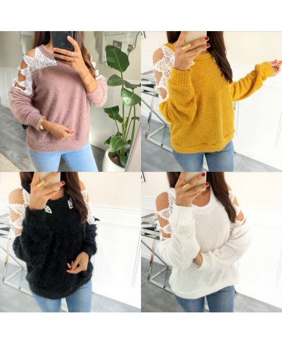 PACK 5 SWEATERS LACE 9169