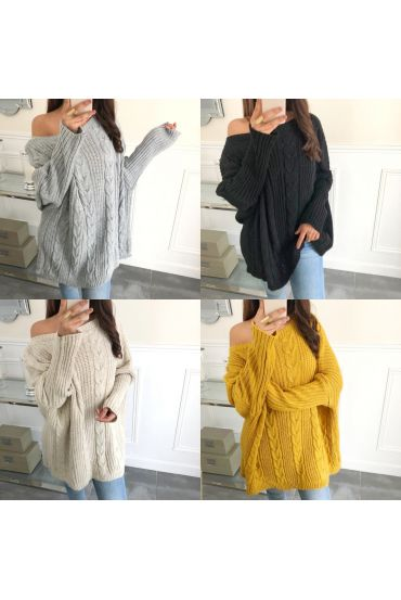 PACK 4 PULLOVER MESH 8027