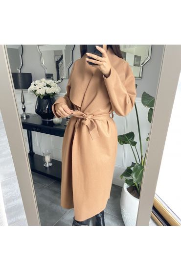 COAT LEGER 9801 CAMEL