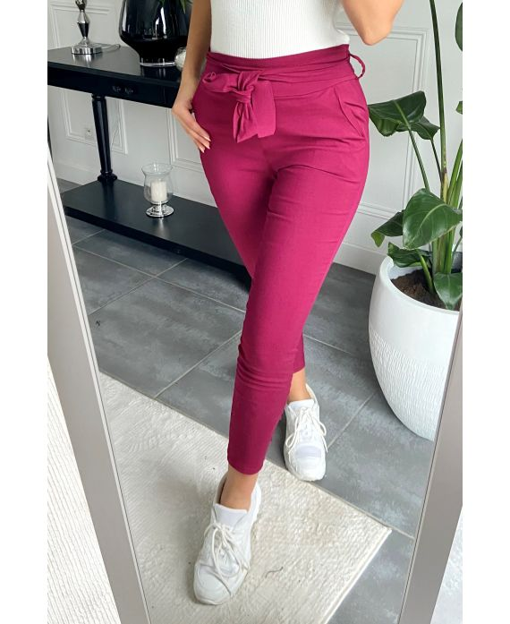 PACK 4 PANTS S-M-L-XL 9800 BORDEAUX