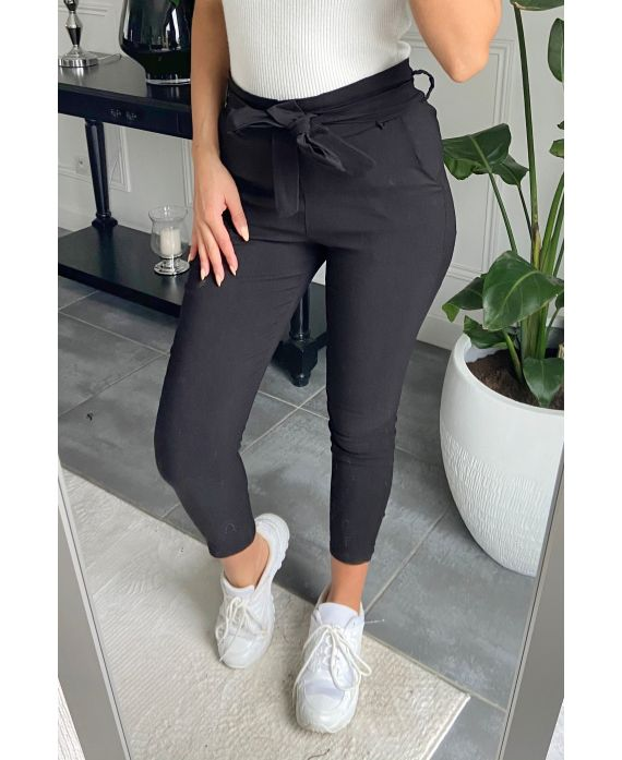 PACK 4 PANTS S-M-L-XL 9800 BLACK