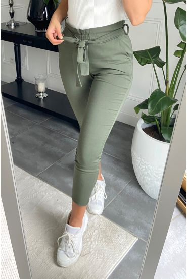 PACK 4 PANTS S-M-L-XL 9800 MILITARY GREEN
