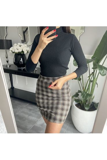 PACK 4 SKIRTS PLAID S-M-L-XL 4575