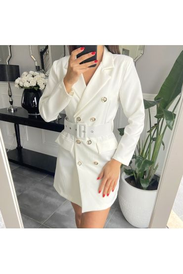 DRESS BLAZER 3849 WHITE
