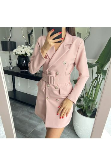DRESS BLAZER 3849 ROSE