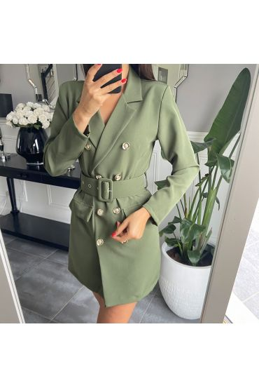 DRESS BLAZER 3849 MILITARY GREEN