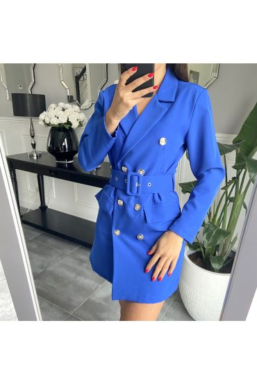 ROBE BLAZER 3849 BLEU ROYAL