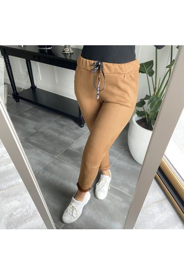 PACK OF 5 PANTS JOGG SUEDE S-M-L-XL-XXL 1982 CAMEL