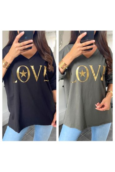 PACK OF 5 T-SHIRTS LOVE 9648