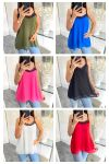 PACK 7 TOP CAMISOLE LACE 8168