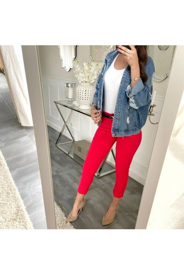 PACK OF 5 PANTS RED S-M-L-XL-XXL P031