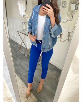 5 PACK PANTS ROYAL BLUE S-M-L-XL-XXL P031