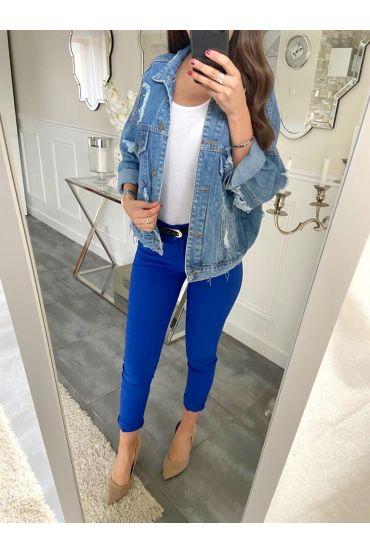 5 PACK PANTS ROYAL BLUE S-M-L-XL-XXL P031