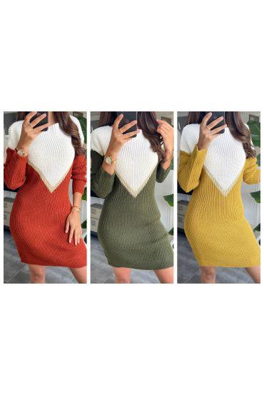 PACK 5 DRESSES SWEATERS MESH 2117