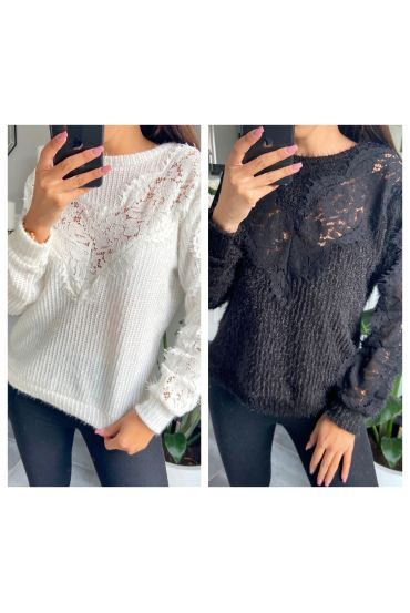 PACK 5 SWEATERS LACE CHEST 9778