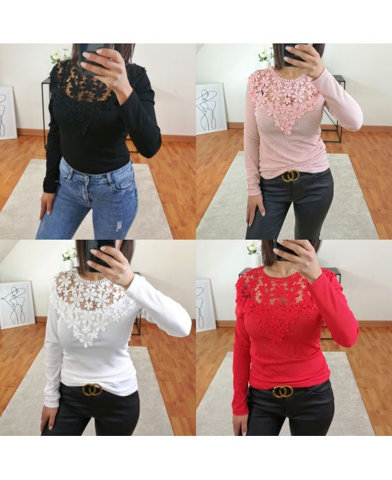 PACK 4 SWEATERS LACE 2220