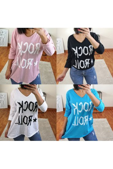 4 PACK T-SHIRTS AND ROCK ROLL 21055