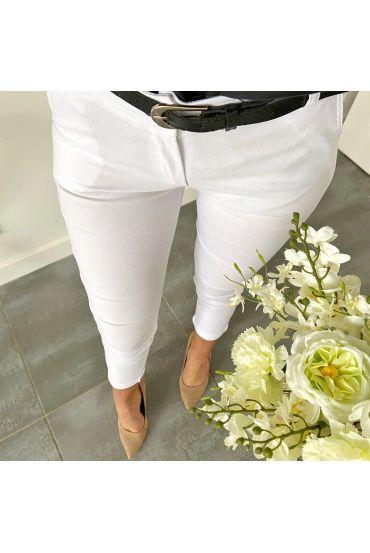 5 PACK PANTS WHITE S-M-L-XL-XXL P031