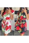 PACK OF 2 DRESSES FLOWERS 7884