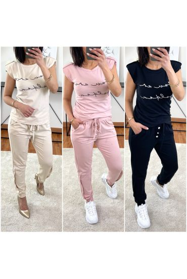 PACK 3 ENSEMBLES TOP + PANTALON 9938