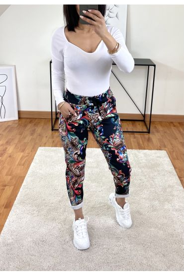 PACK OF 2 PAIRS OF PANTS PRINTS 9302I4