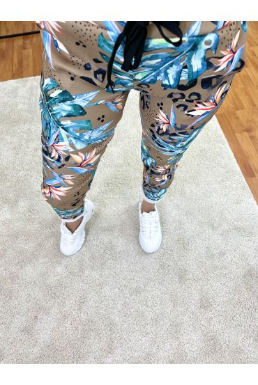 PACK OF 2 PAIRS OF PANTS PRINTS 9302I8