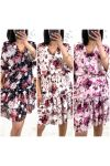 PACK 3 DRESSES 21046i1 LARGE FLOWERS