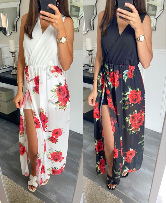 PACK OF 2 DRESSES COMBINATIONS 8874