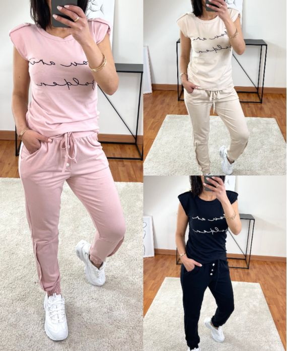 PACK OF 3 SETS TOP + PANTS 9938