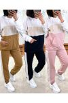 3 PACK ALL COTTON PANTS + SWEATER POCKET 2973