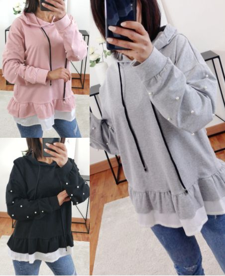 PACK 3 SWEATERS SWEATS HOODIE AND PEARLS 8628