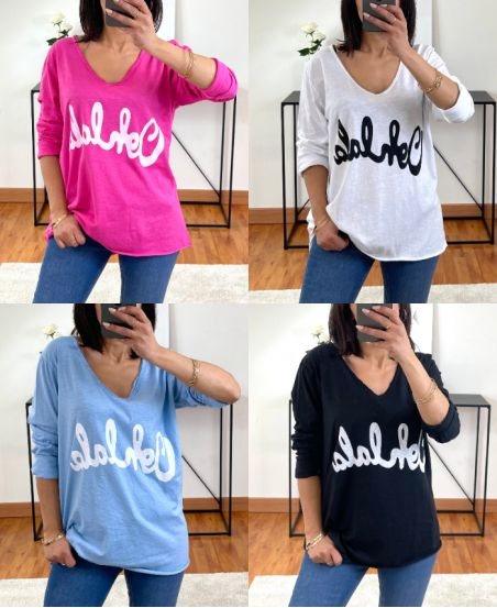 PACK OF 4 T-SHIRT OHLALALA 7523
